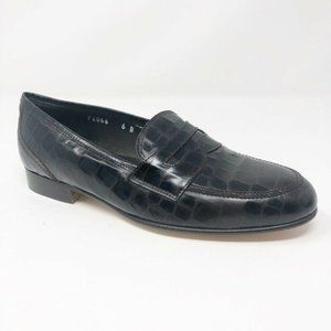 Cole Haan Womens Loafers Shoes Brown Leather 6 B